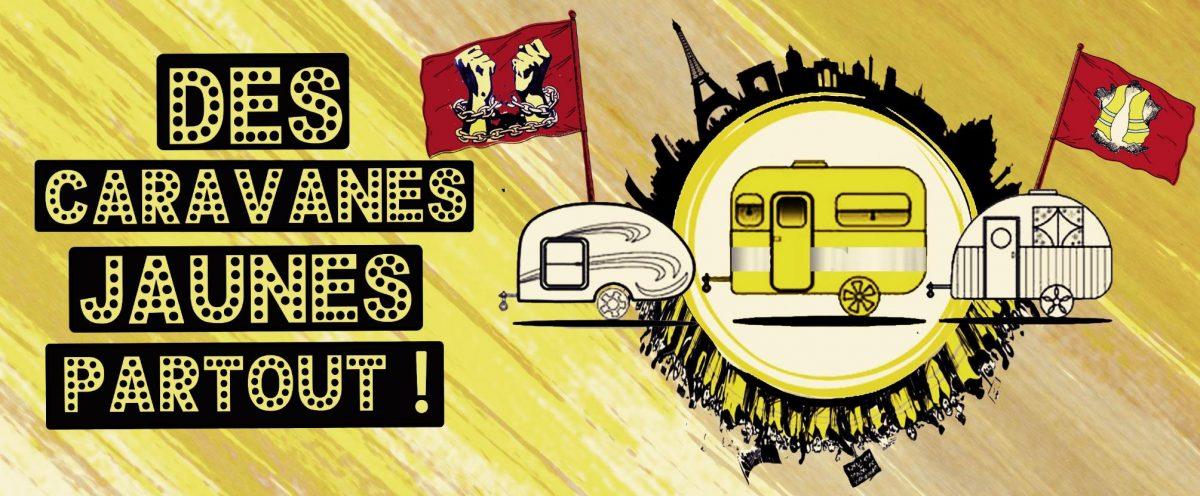 Des caravanes jaunes partout !
